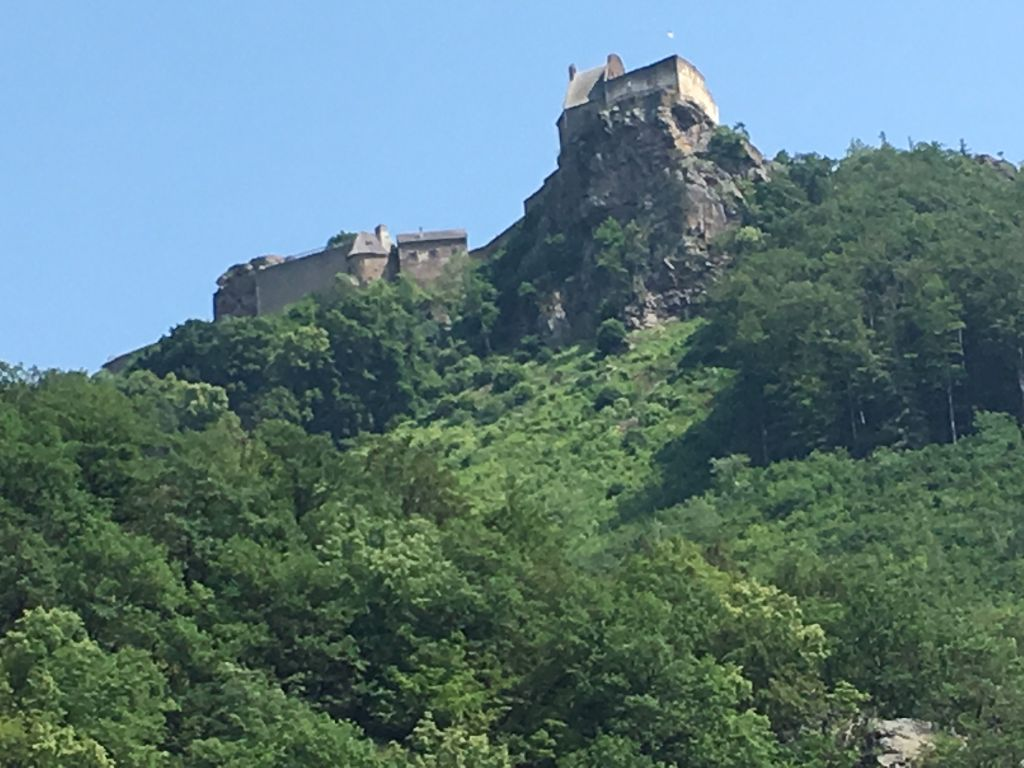 Aggstein Castle on the Danube