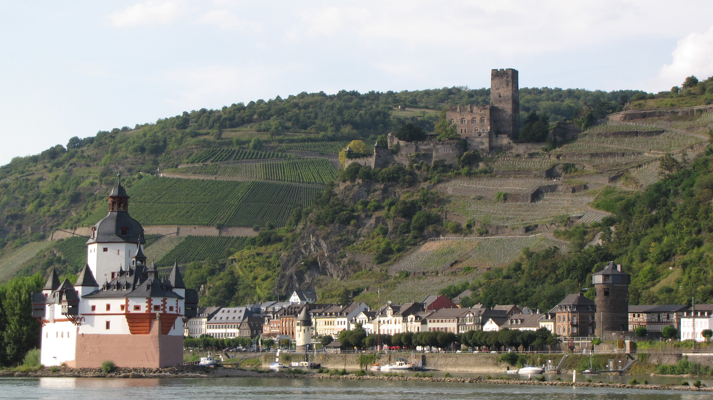 Pfalzgrafenstein Toll Castle on the Rhine River Gorge