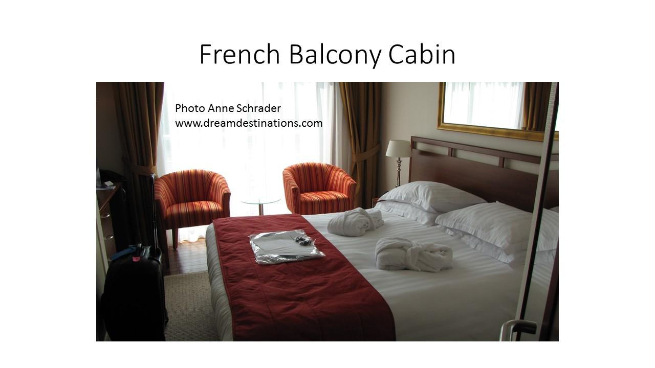 Amalyra French Balcony Cabin