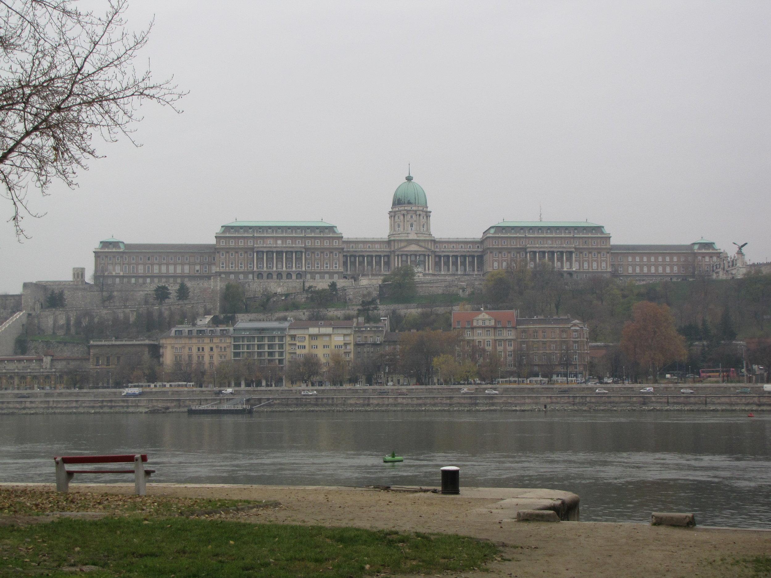 Buda Castle in the Fog
