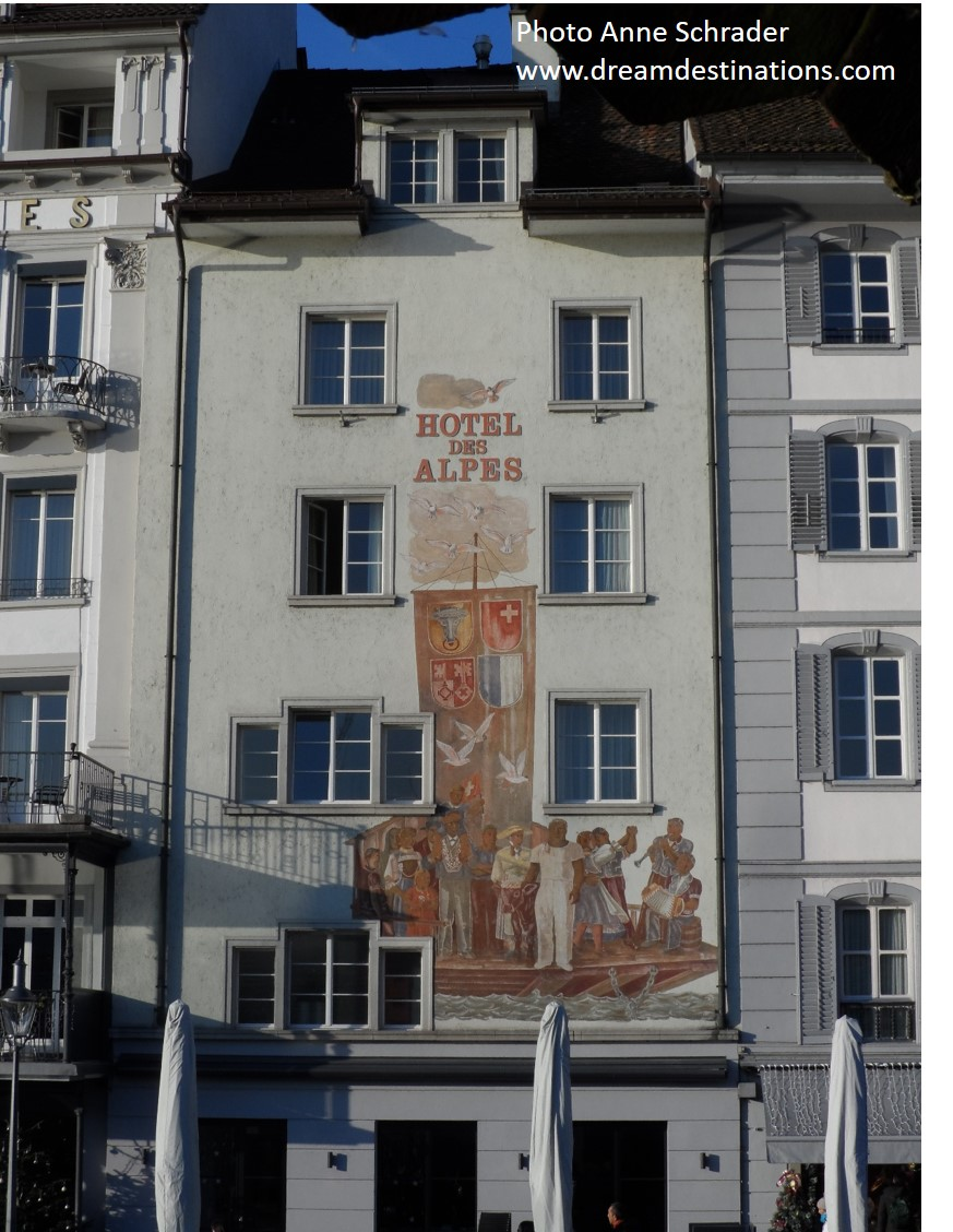 Hotel Des Alps—A Wonderful Hotel in Lucere, Switzerland—Anne always communicates before our clients arrive to insure their stay is the best possible!