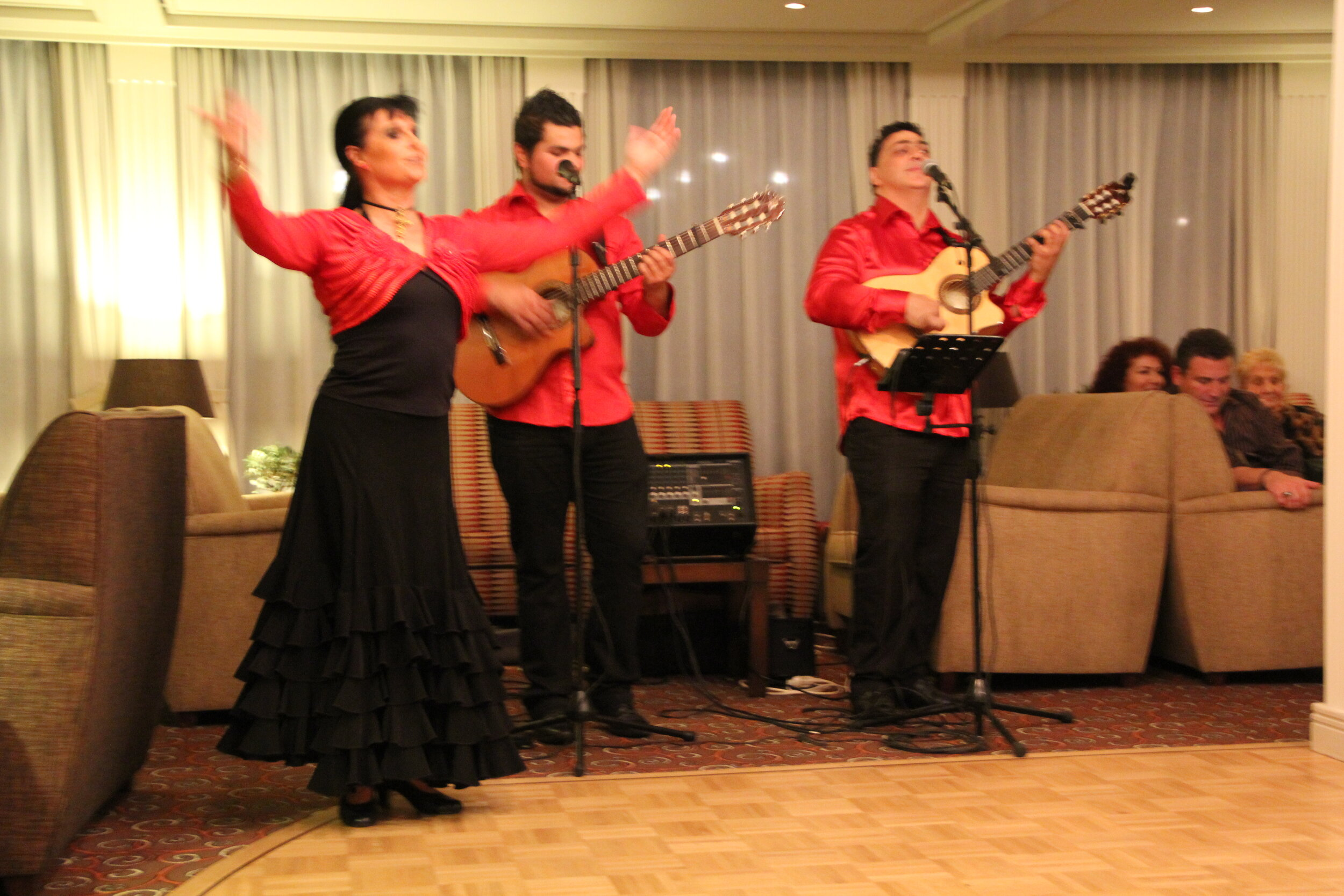 Local Entertainment Group on one of our river cruises in 2013