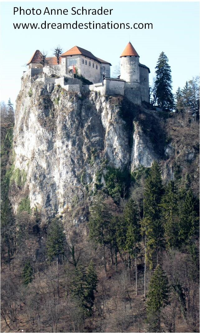 Bled Castle on the Cliffs