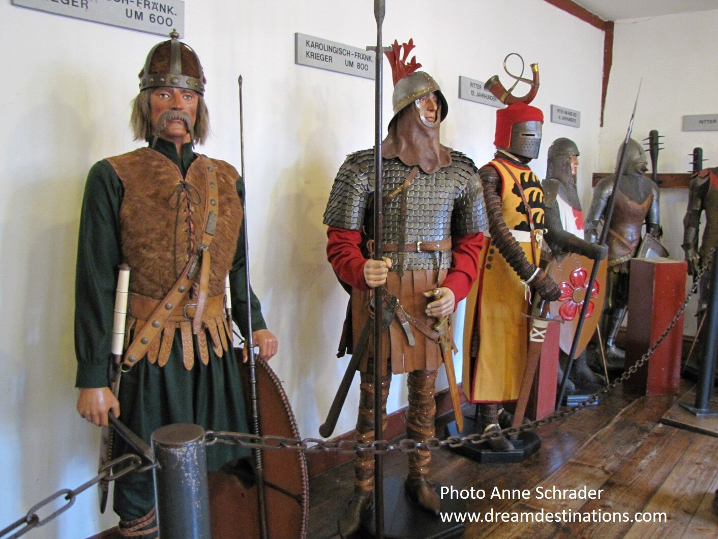 Warriors thru the Ages at Marksburg Castle