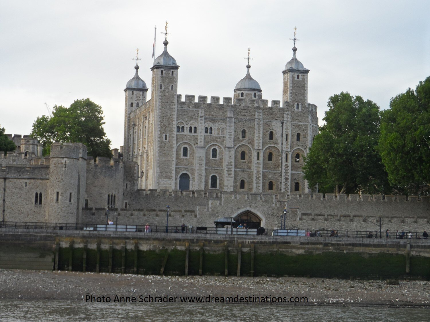 Tower of London 2019—this picture was taken on a Thames River cruise