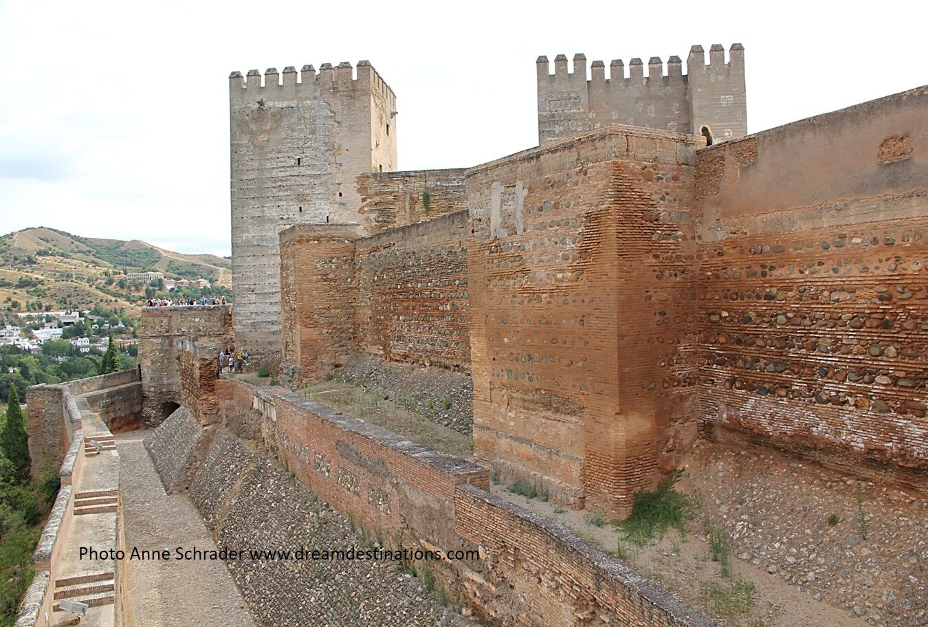 Outer Walls of the Alhambra