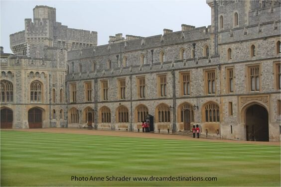 Changing of the Guard, Private Apartments, Windsor Castle