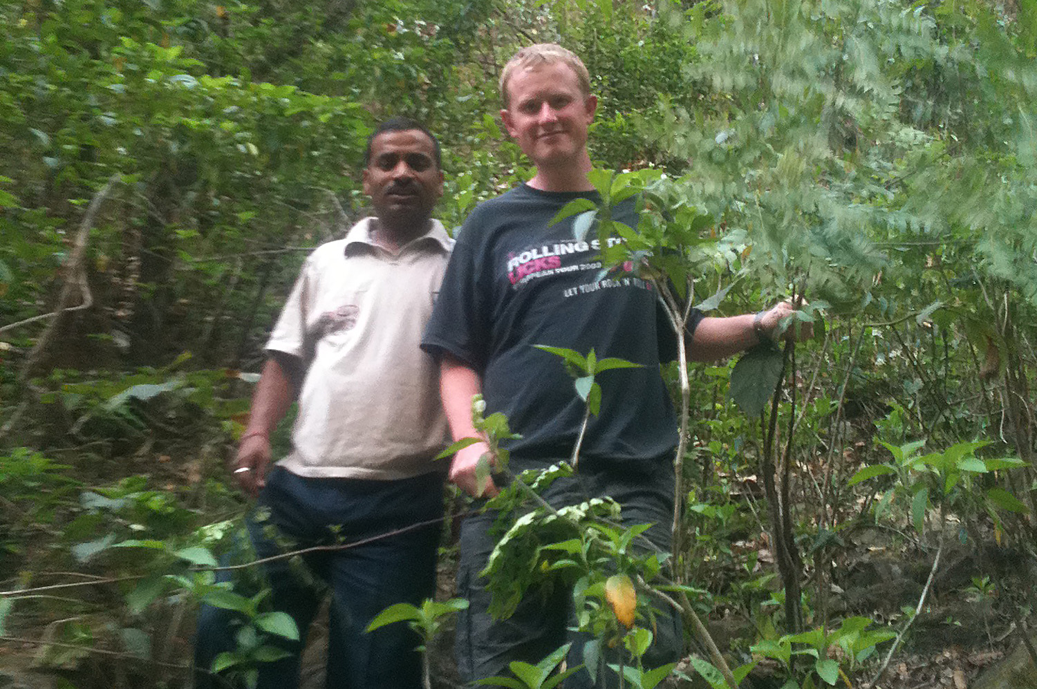 Jungle Trekking With Vijay