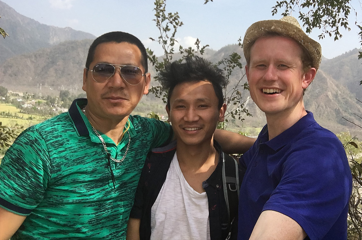Jugga And Phuntsok; Our Local Guides