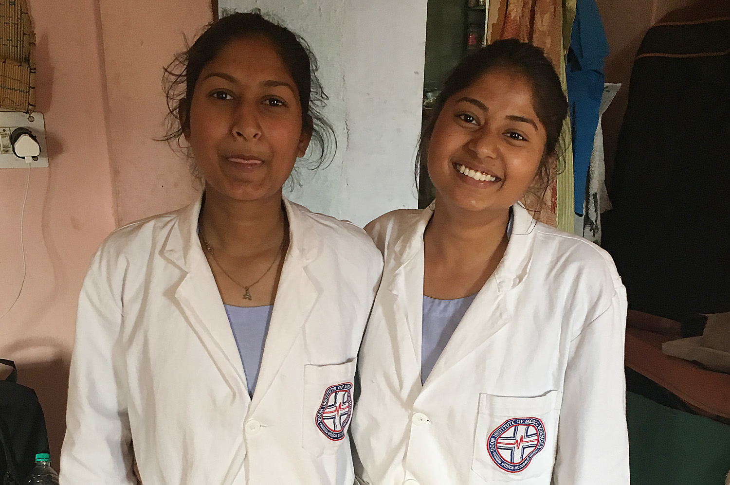 My God-Daughters Now Training To Be Nurses!