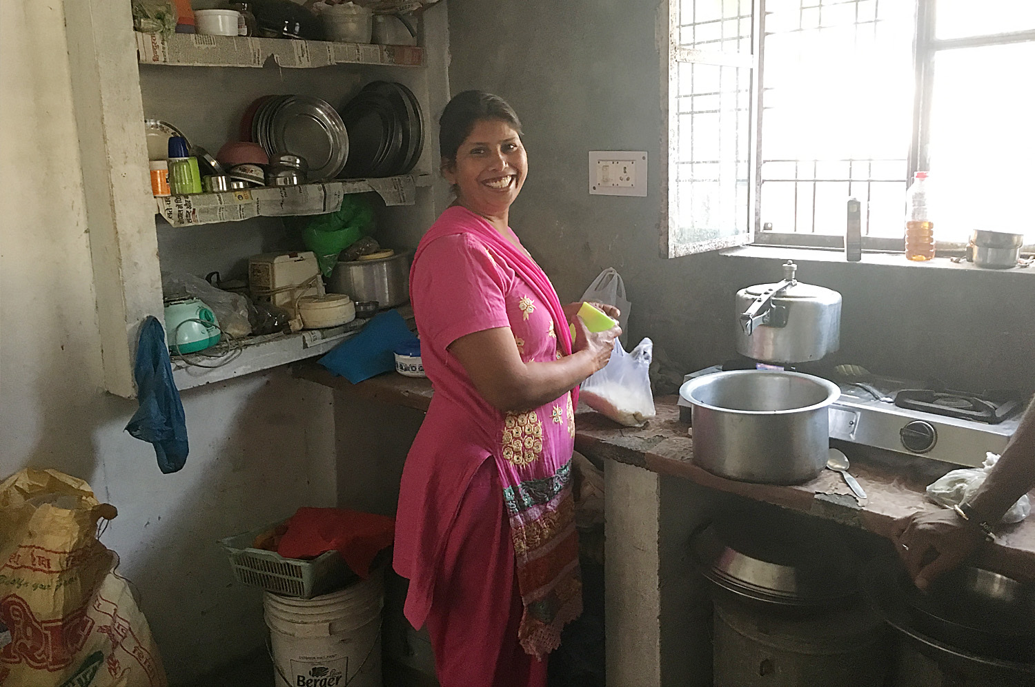 Learn To Cook And Wash Your Clothes With Pushpa