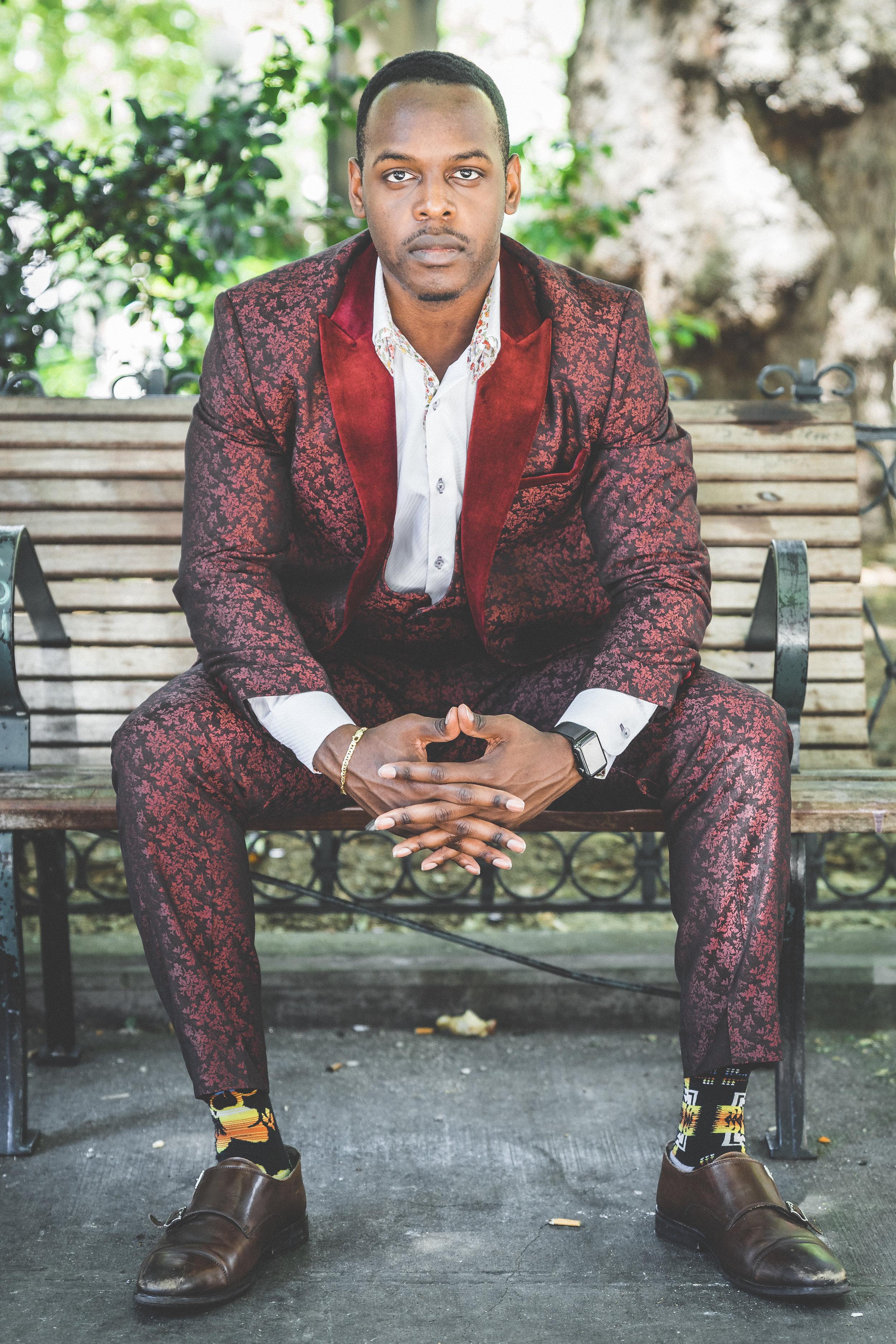 3-Piece suit ($140), dress shirt ($37)