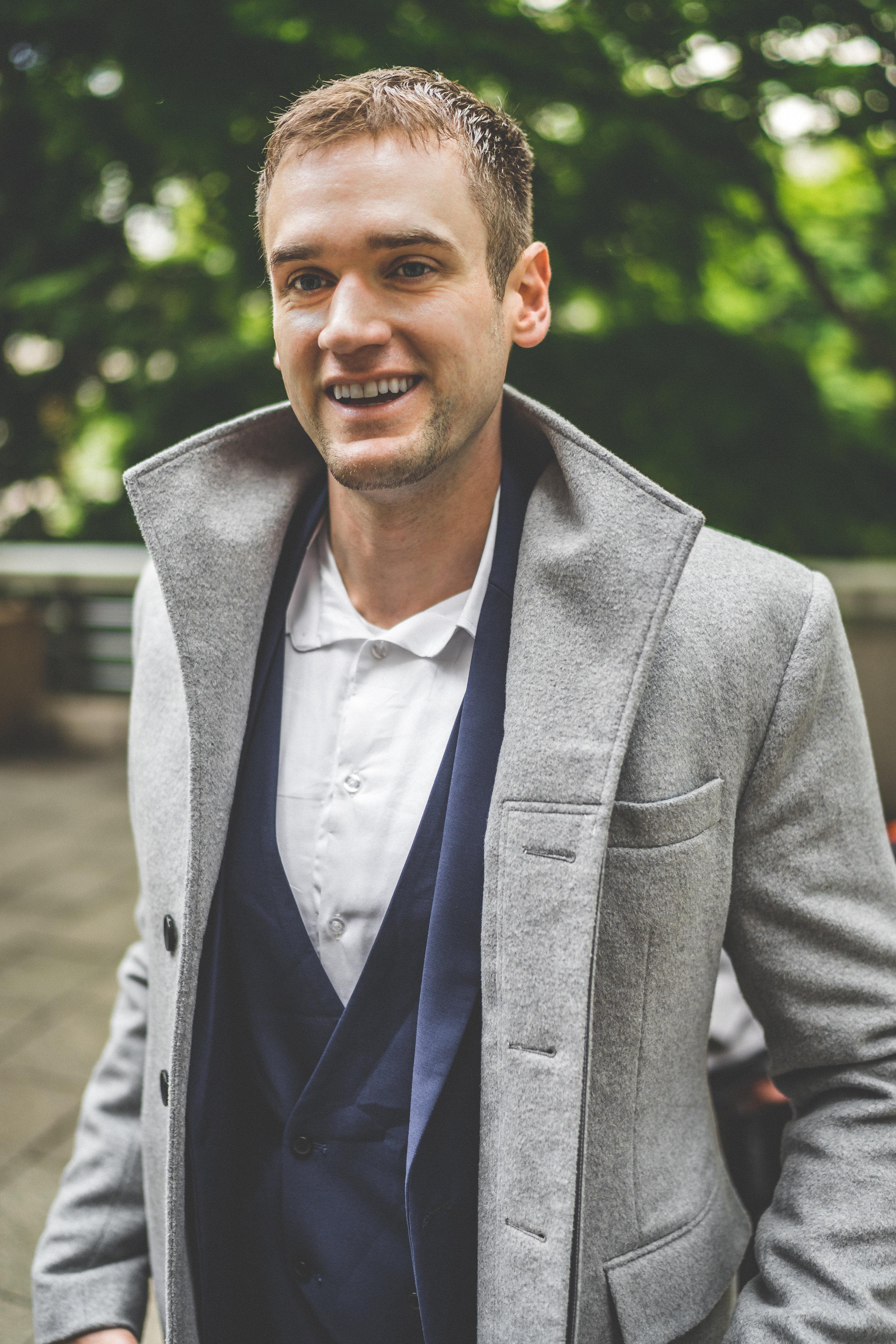 gray coat ($130)