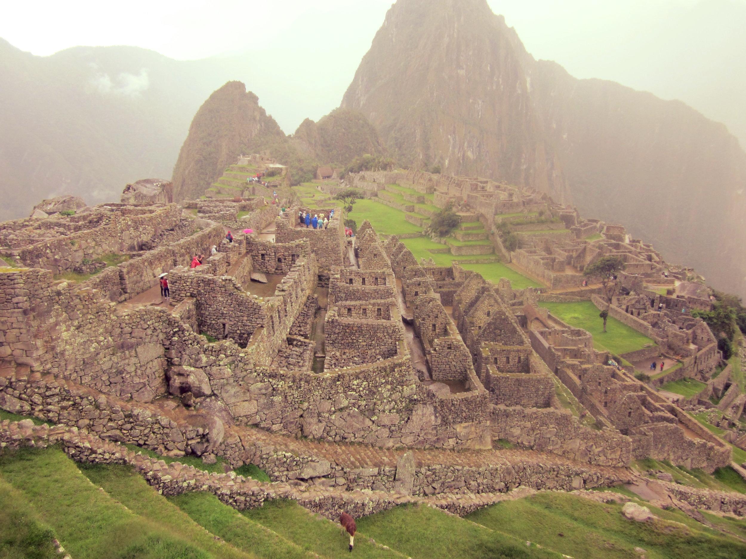 Kun oikein oikein haluat päteä, voit luoda jotain tällaista.  (Machu Picchu, Peru 2016)