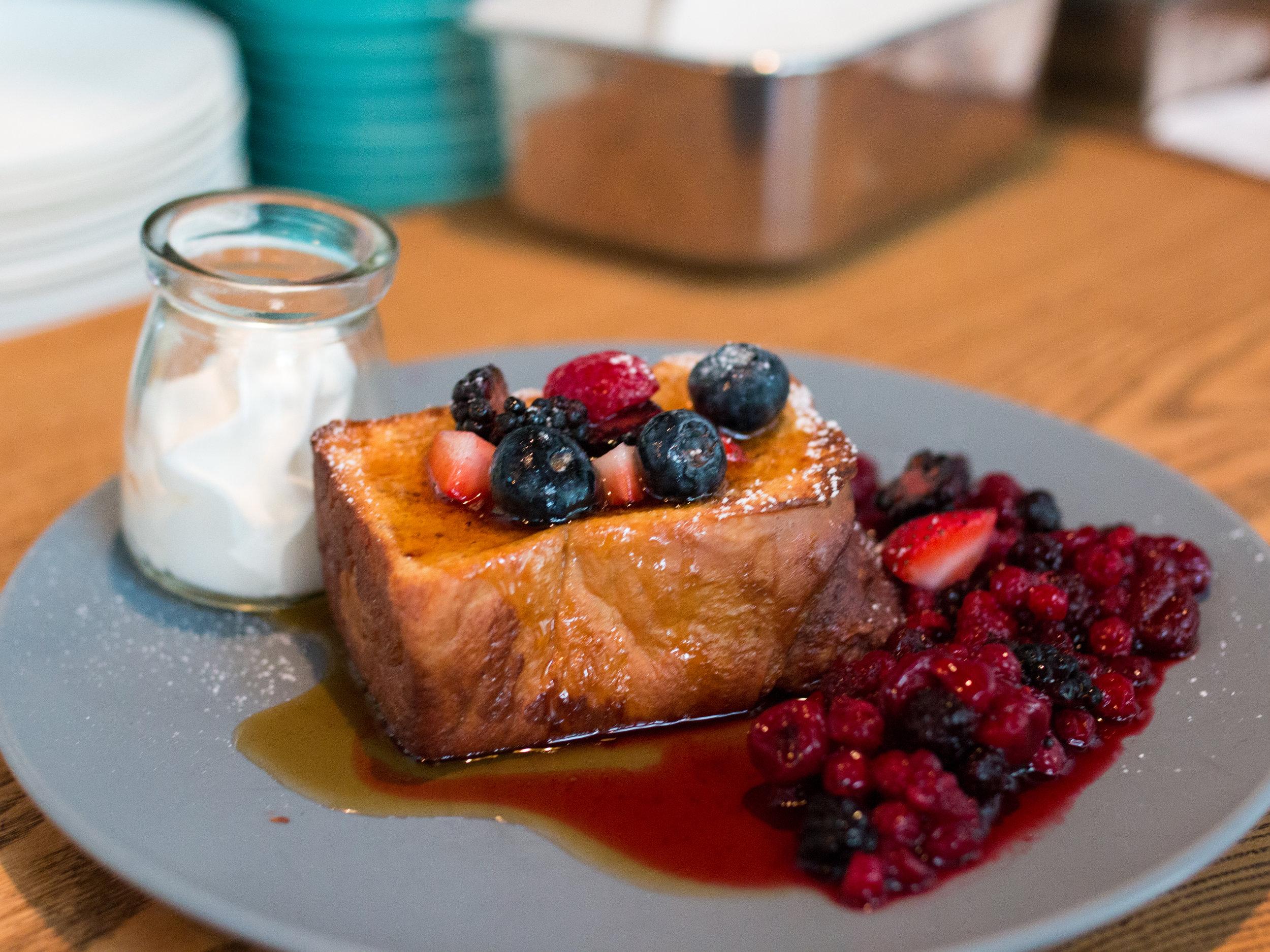 Cinnamon French Toast -