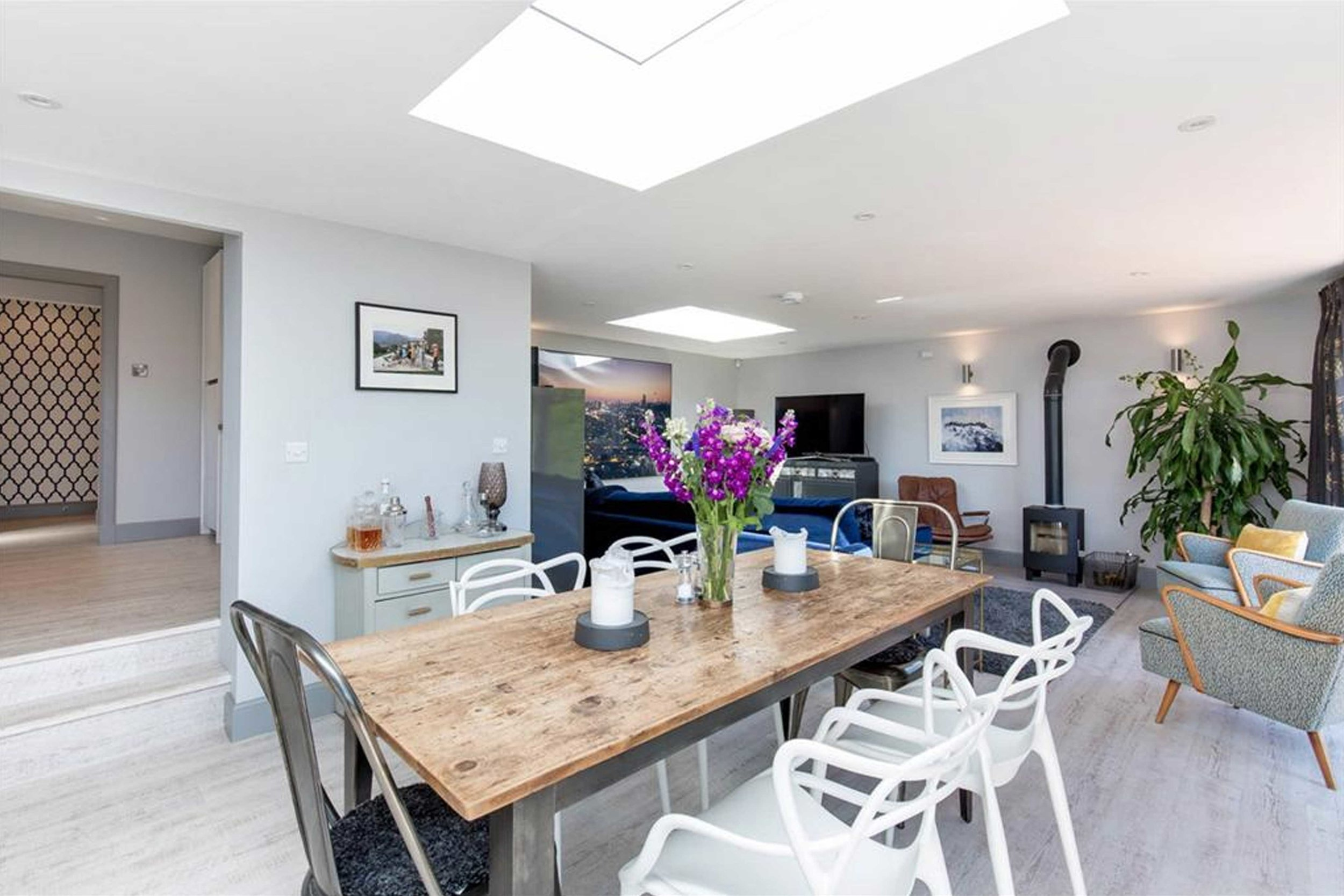 Craigleith open plan living dining