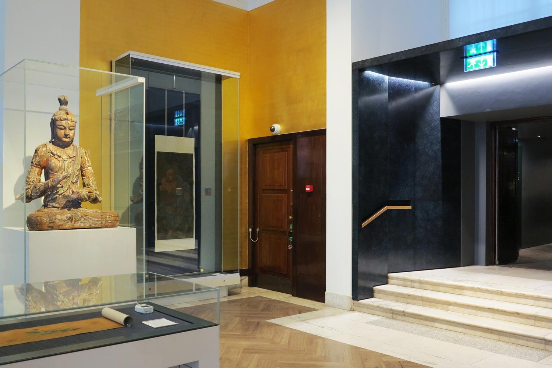 British Museum  - Sensitive installation in an historic setting