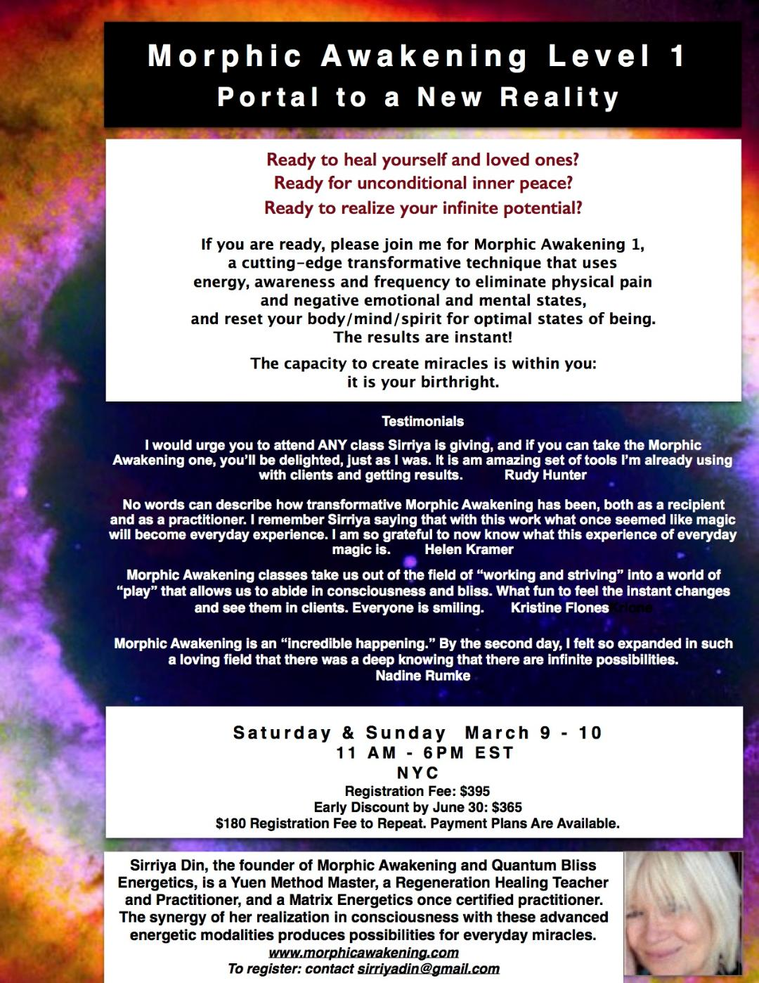 An Invitation to Play with Healing Magic 3/9 - 3/10 — Helen