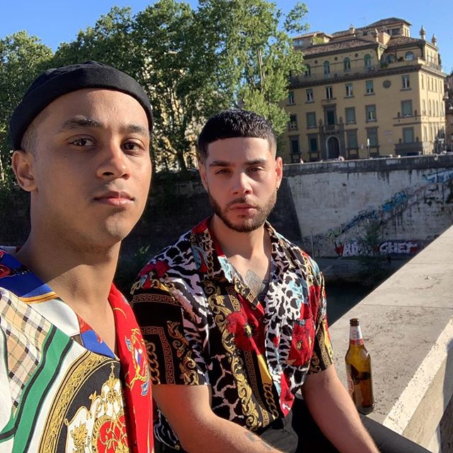 Told @alexanderd__ we should just say fuck it and move to #Rome. Eat pasta for the rest of our lives 🍝 😬👬