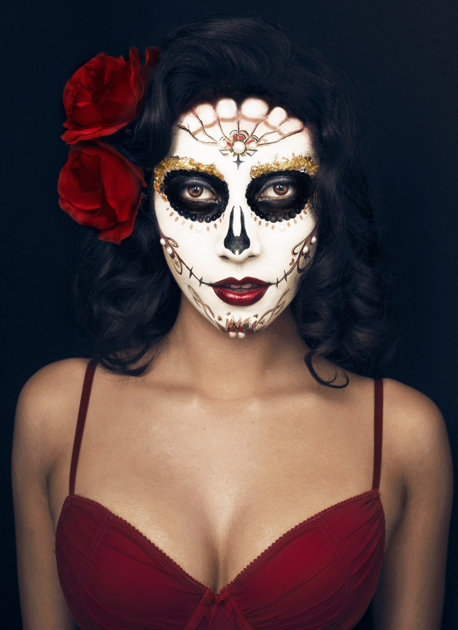 Day of the Dead portrait Laura Shortt Photography.jpg
