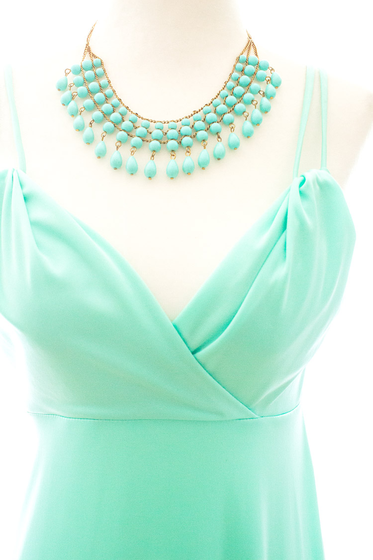tiffany blue statement necklace and dress Laura Shortt Photography.jpg