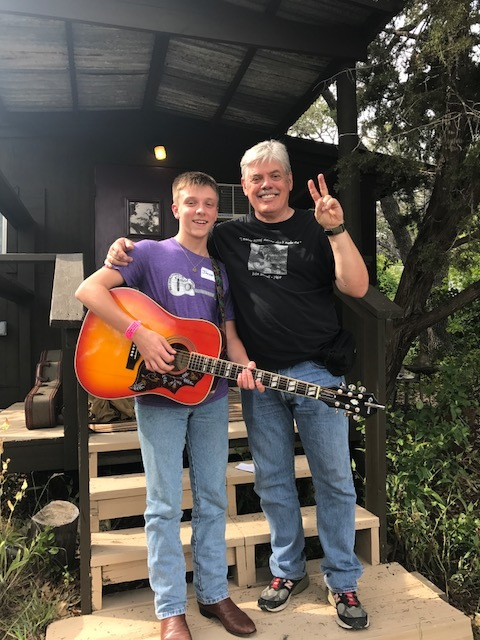 working with LLOyd Maines -