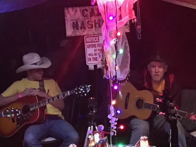 SONG CIRCLE WITH BILL NASH AT KERRVILLE FOLK FESTIVAL -