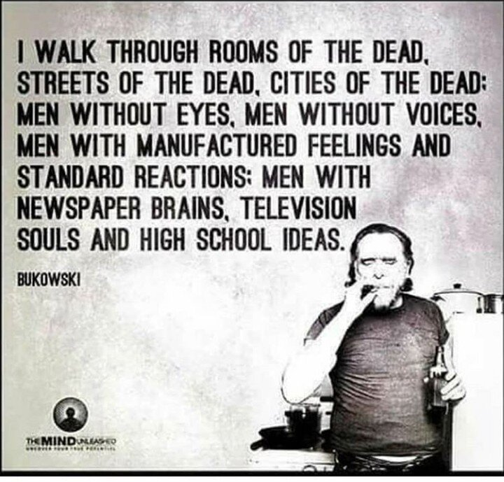 Cities of the dead… - Don't die before you're dead… Set backs and hard times are acceptable, tapping out early is not. The world is a wonderful place if you look hard enough. Keep moving forward, keep dreaming, keep creating, keep learning, keep grafting and support those that need it most.