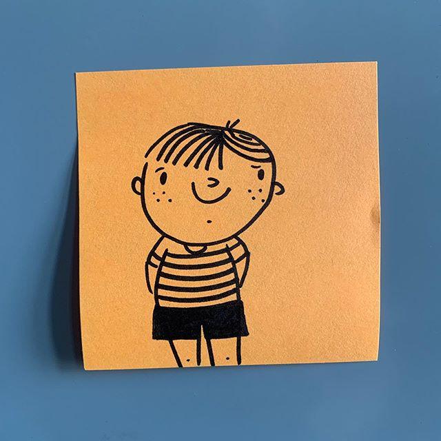 Sep 24: 🙂 • #dewdle #dewdlesonthedaily #doodlesonthedaily #artistsoninstagram #illustration