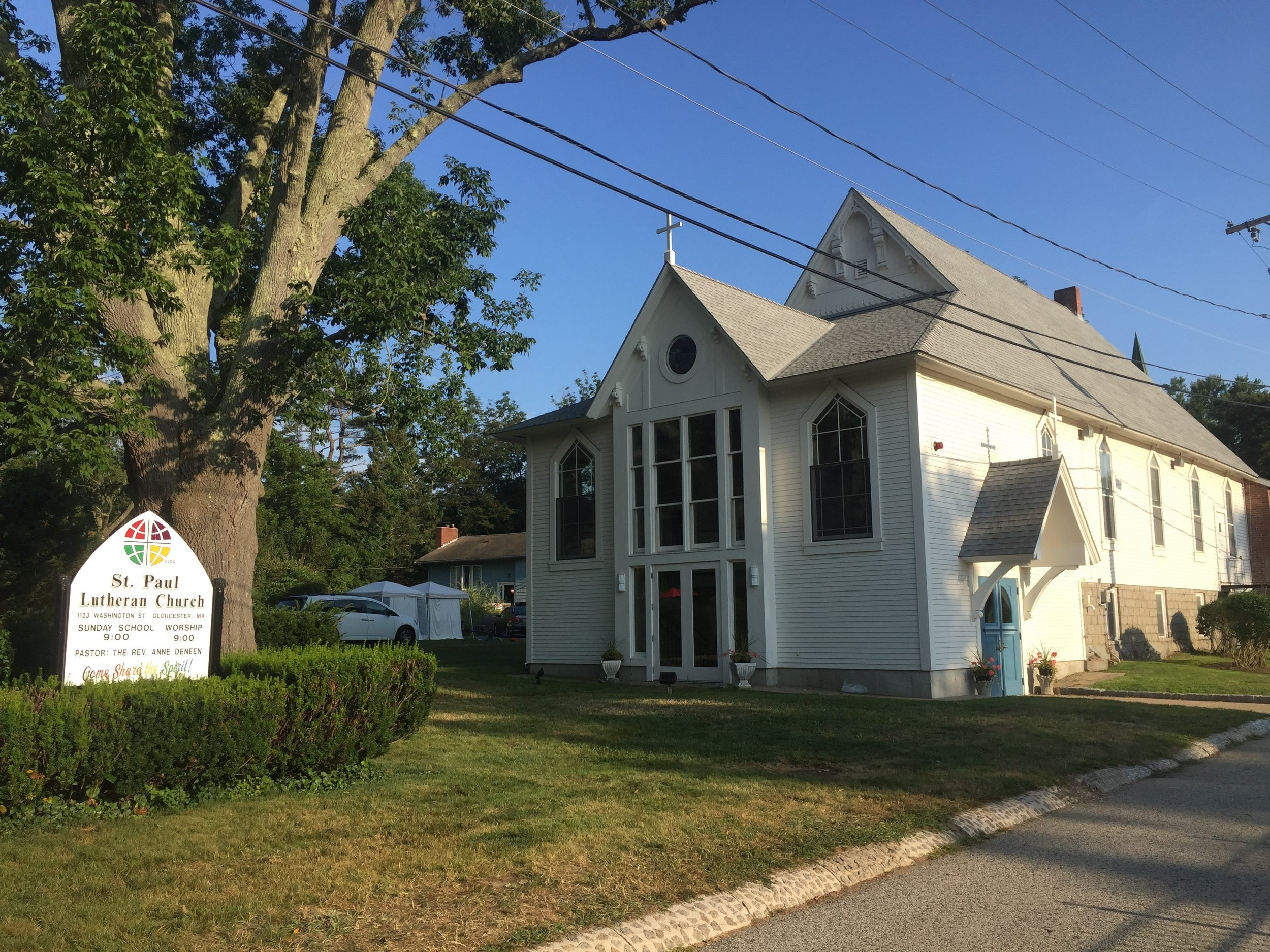 """St. Paul Lutheran Church in Gloucester is an acoustically and aesthetically ideal setting for the intimacy of chamber music.""        --Cape Ann Beacon"