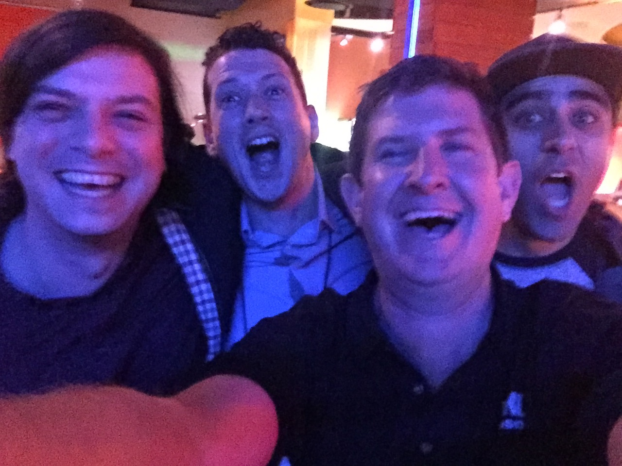 Ben Casey, Dave Hillel & Serafin Sanchez  Los Angeles Ableton NAMM Event