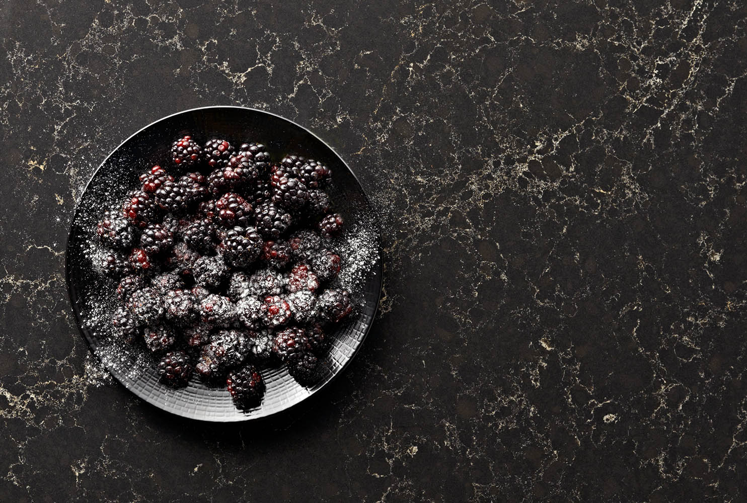 caesarstone•blackberries