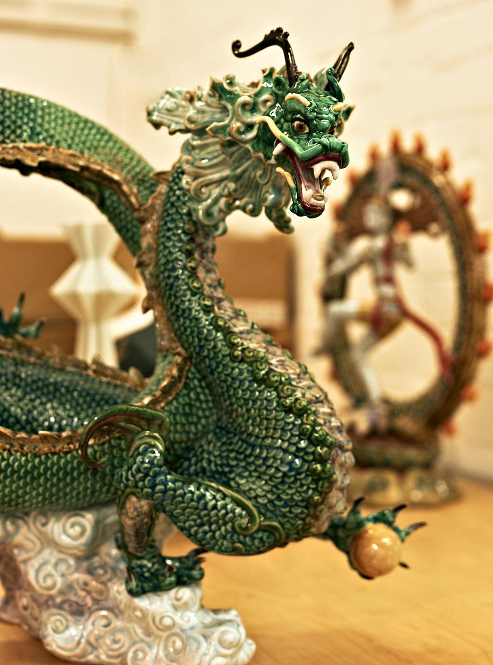 lladro dragon