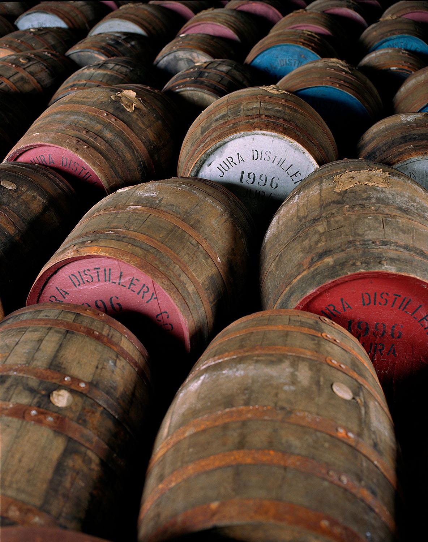 whiskey barrels•isle of jura