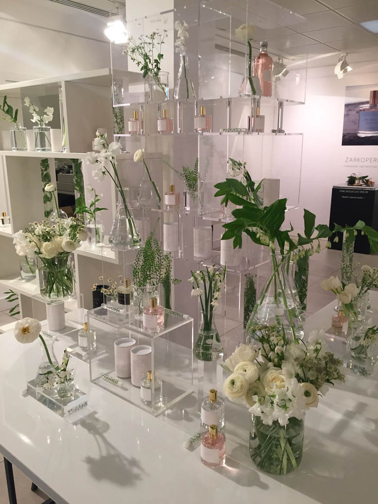 Press day perfume launch at Space NK