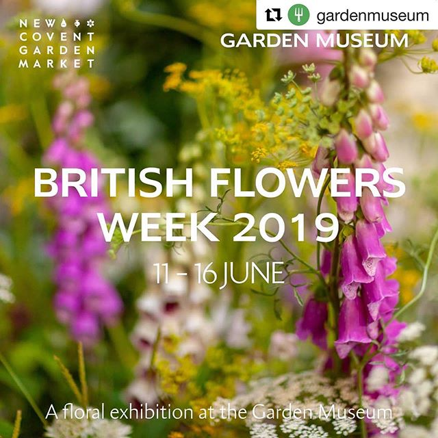 #Repost @gardenmuseum with @get_repost ・・・ Get ready for a blooming wonderful flower-filled week at the Garden Museum, as British Flowers Week is returning! From 11-16 June, the museum will be transformed, filled with vast floral installations created by five of the country's top florists – @rowan_blossom, @wormlondon, @carlyrogersflowers, @bloomandburn and @allforlovelondon.  This exhibition is part of @marketflowers #BritishFlowersWeek campaign to celebrate the beauty and variety of British flowers, Uniting florists, flower growers, wholesalers and flower lovers in support of the country's flower industry.