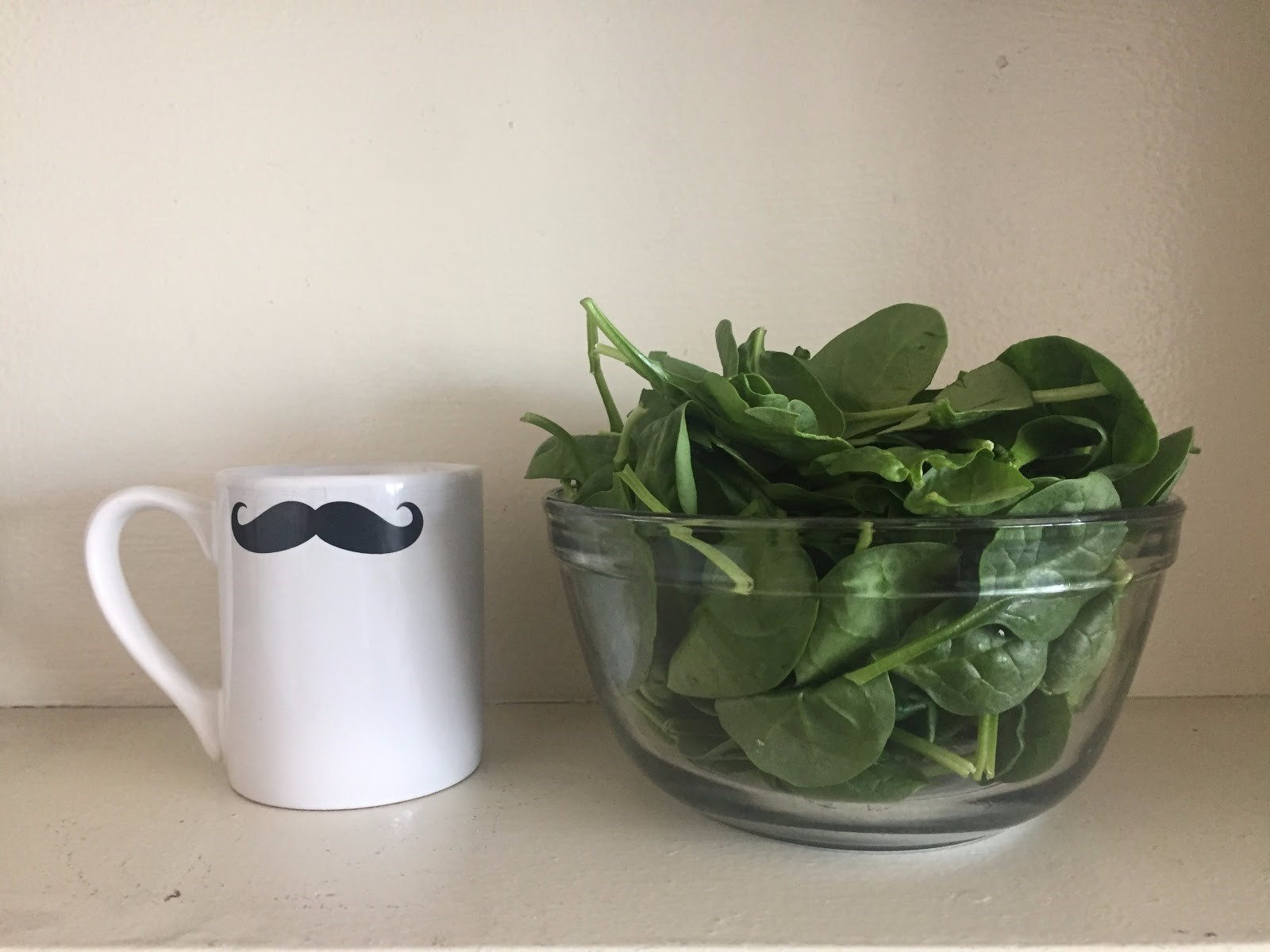 5 oz of spinach