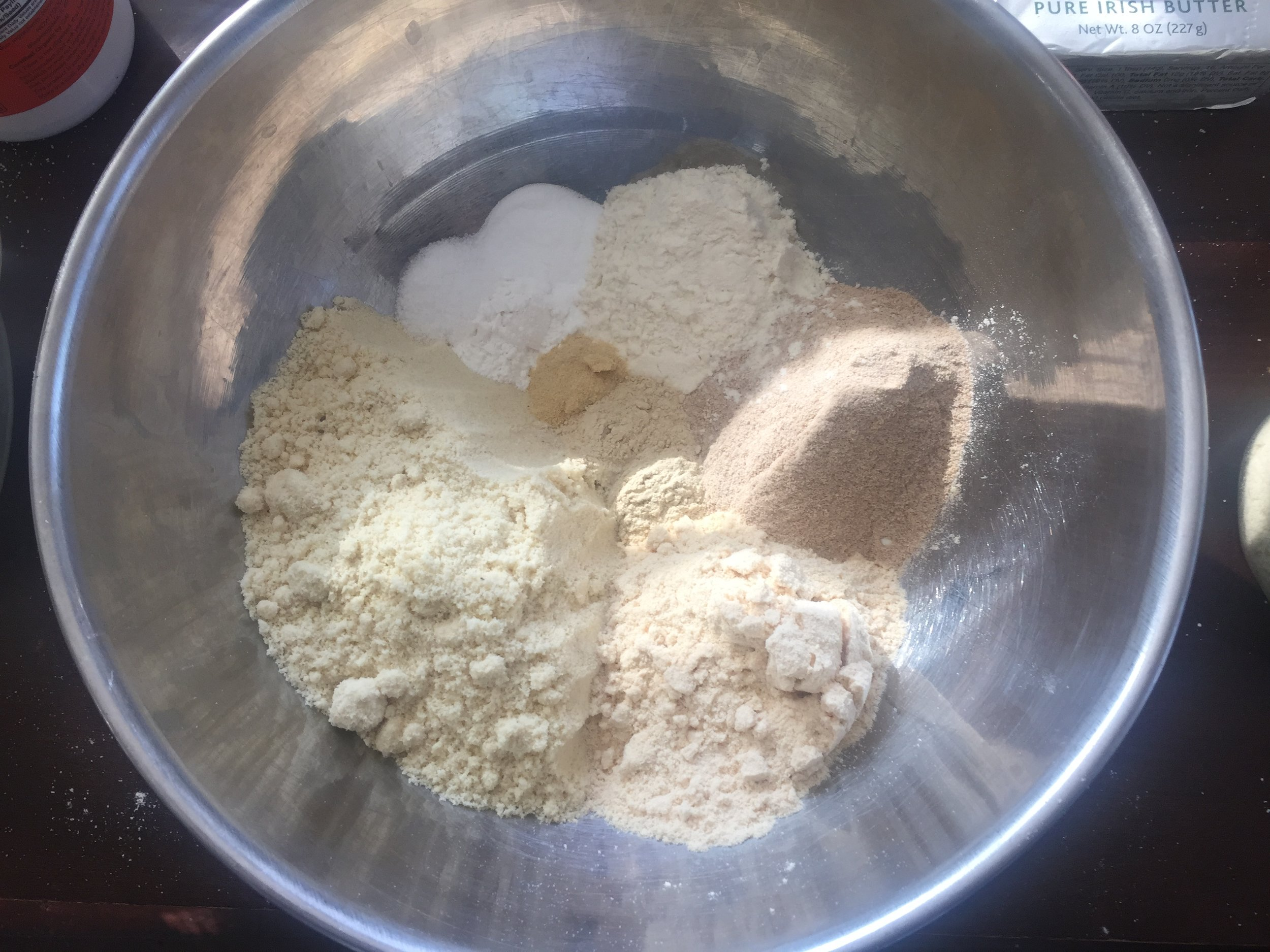 mct bread dry ingredients