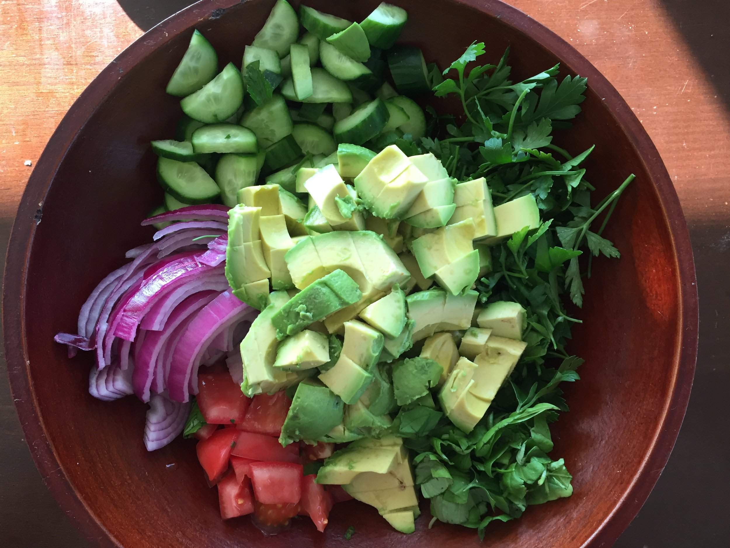 avocado-salad