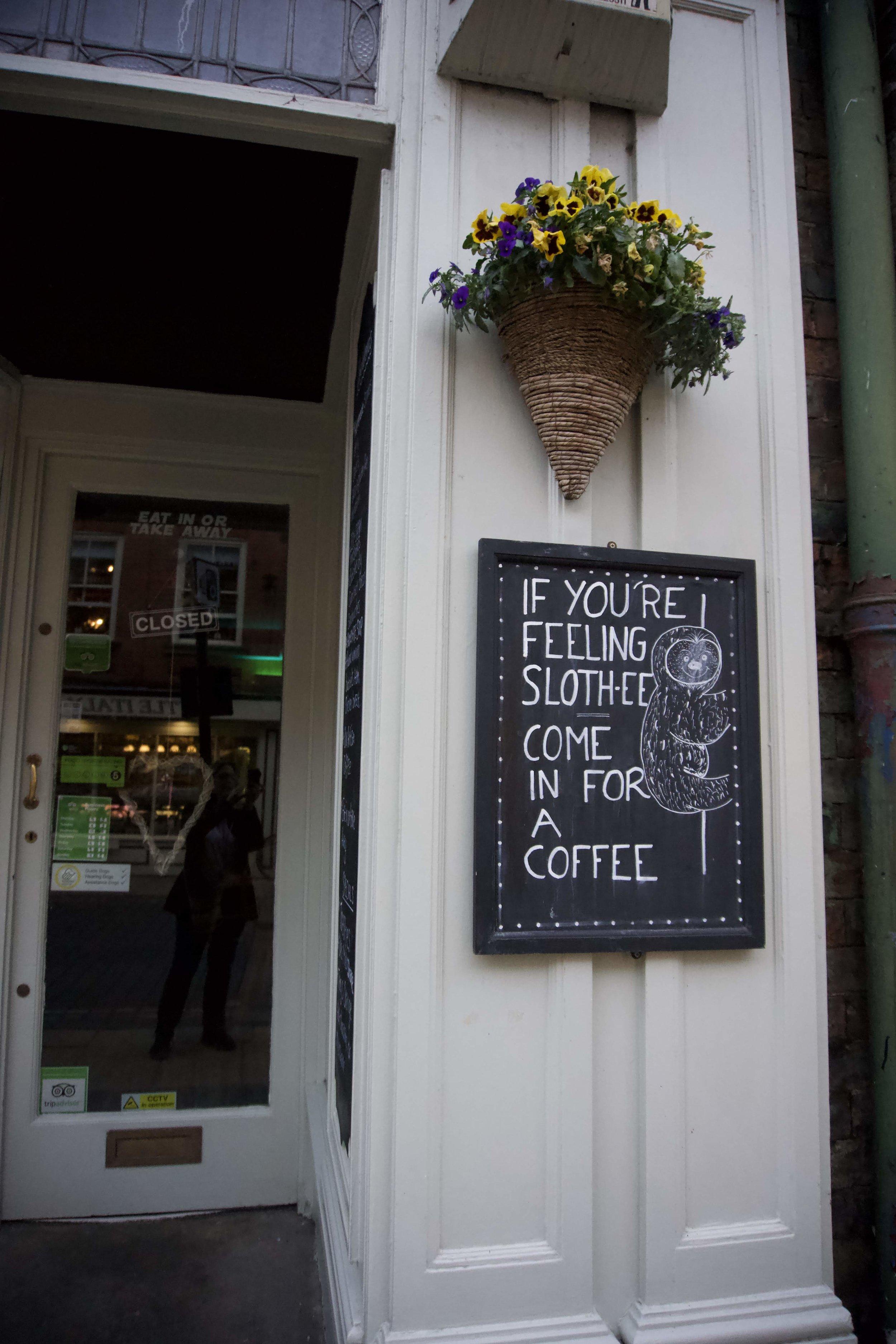 Coffee! Or tea!