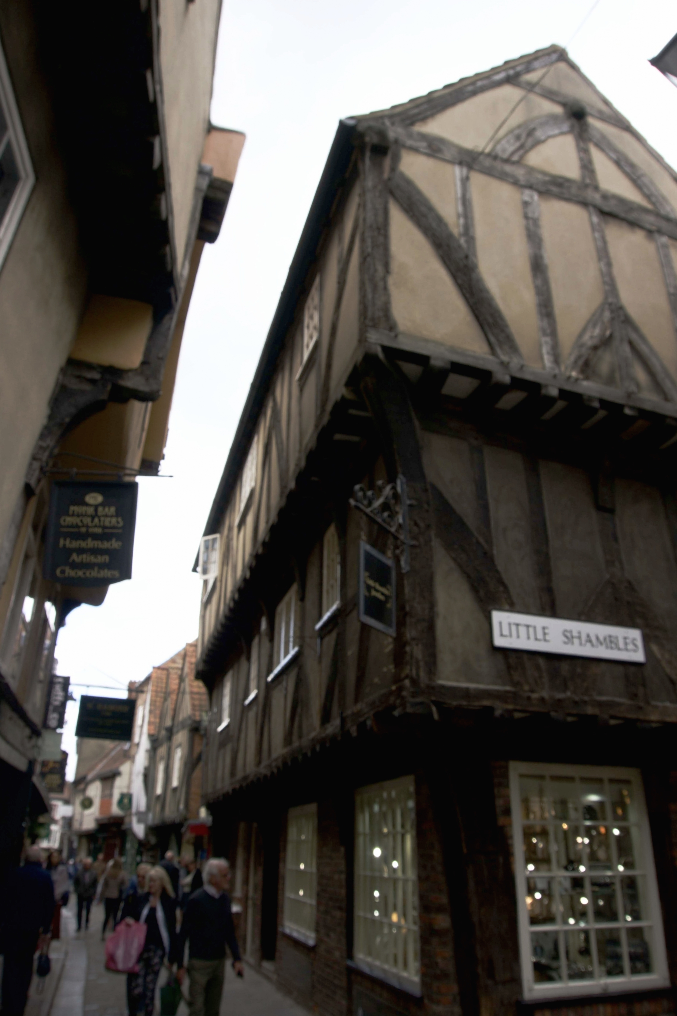 according to some, The Shambles inspired Diagon Alley