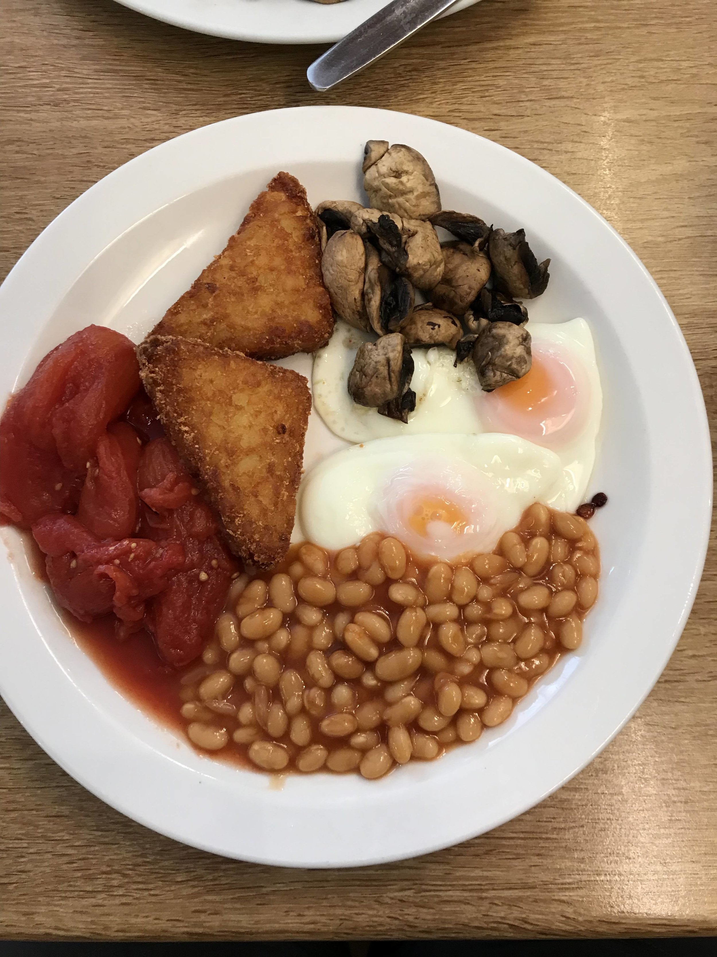 another version of a traditional English breakfast