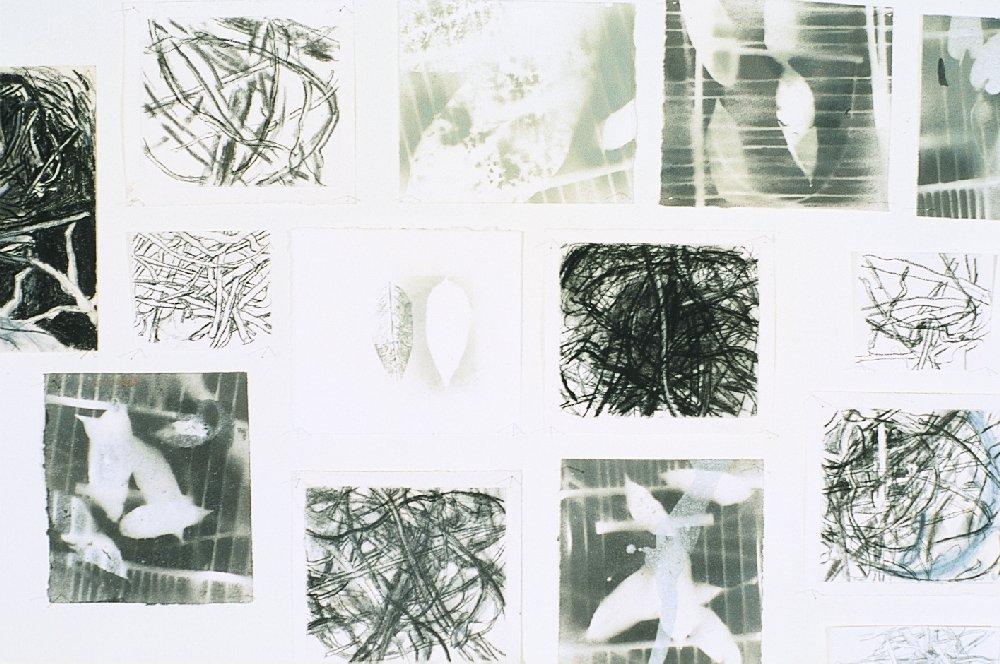 Studies, mixed media, 1997