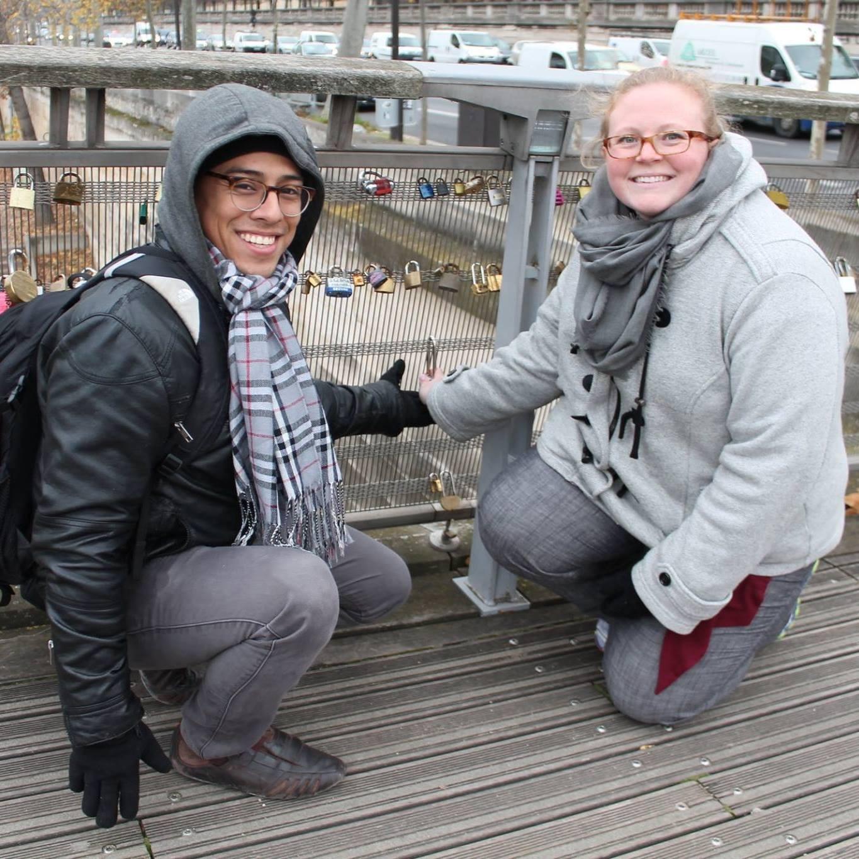 Lock bridge in Paris.