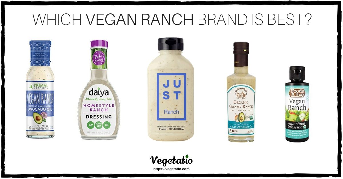 which vegan ranch dressing brand is best?
