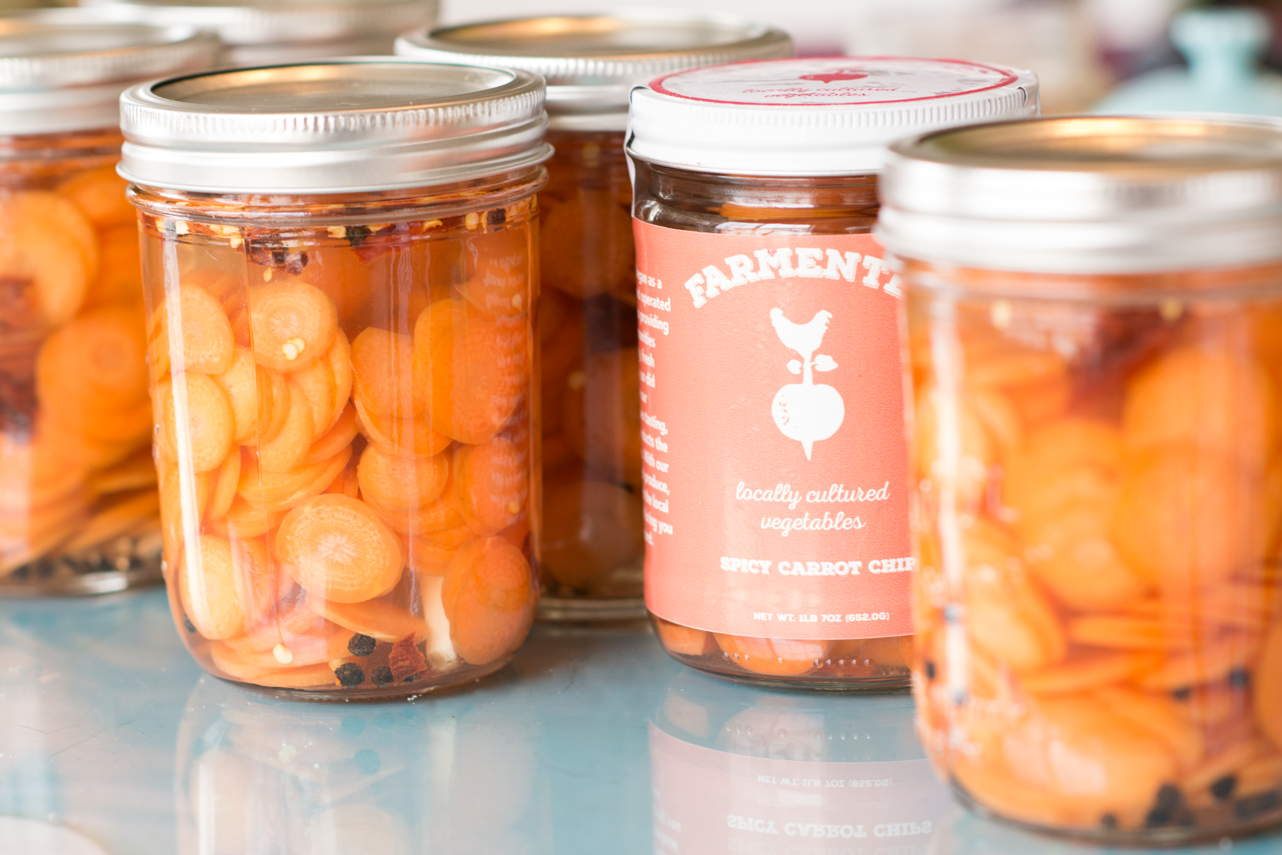 carrot jars - Farmented