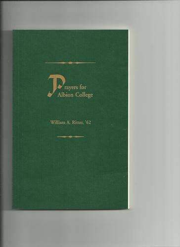 Prayers for Albion College - Click here to shop.