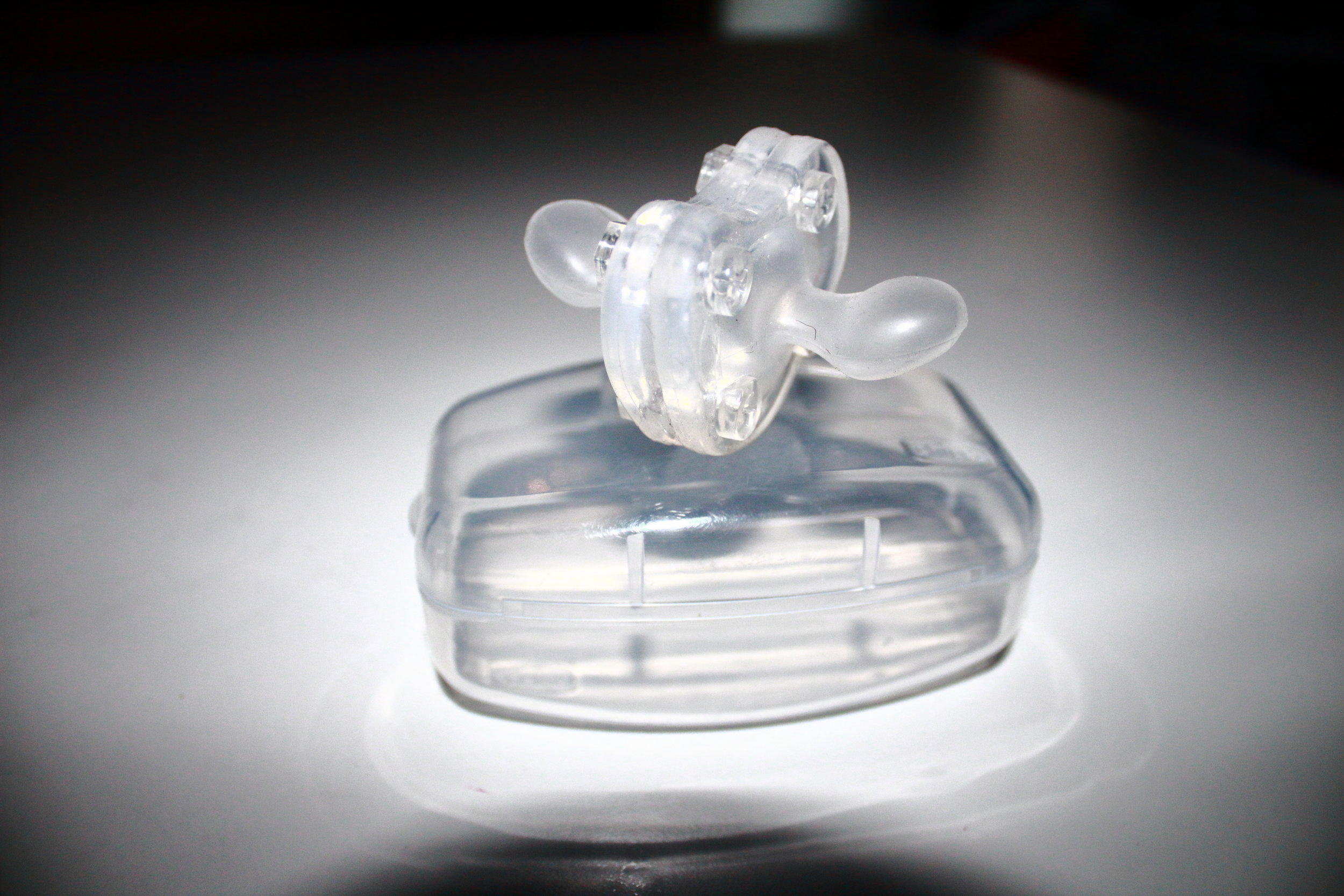 Clear Double Binky
