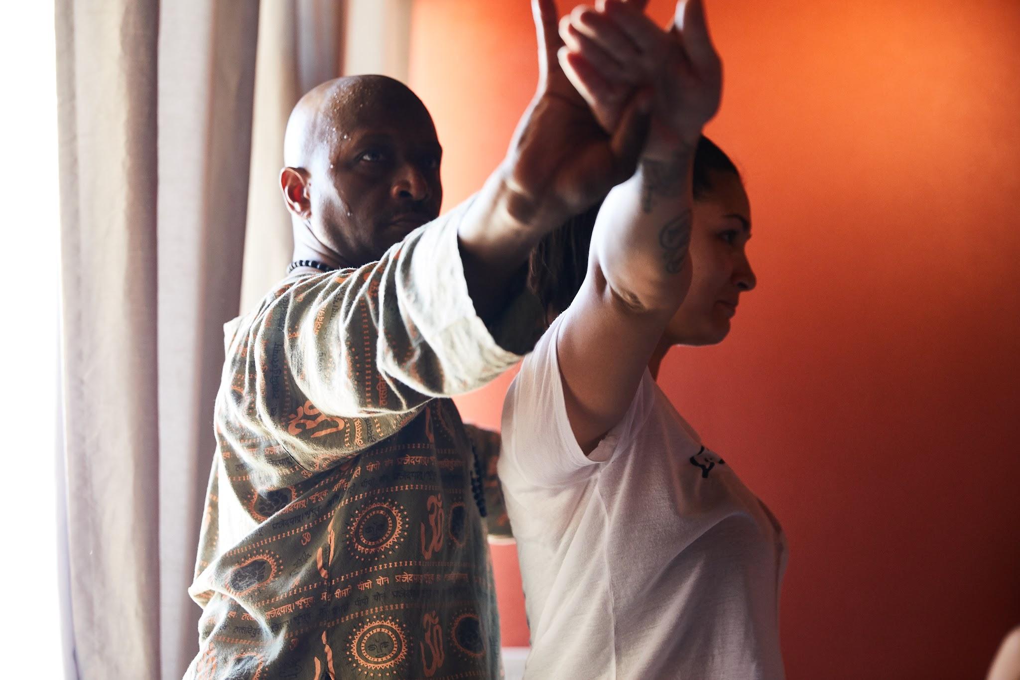 "Zeek Vincent ""Founder of ZFlow Yoga LLC. /Certified International Vinyasa & Yin Yoga Teacher"