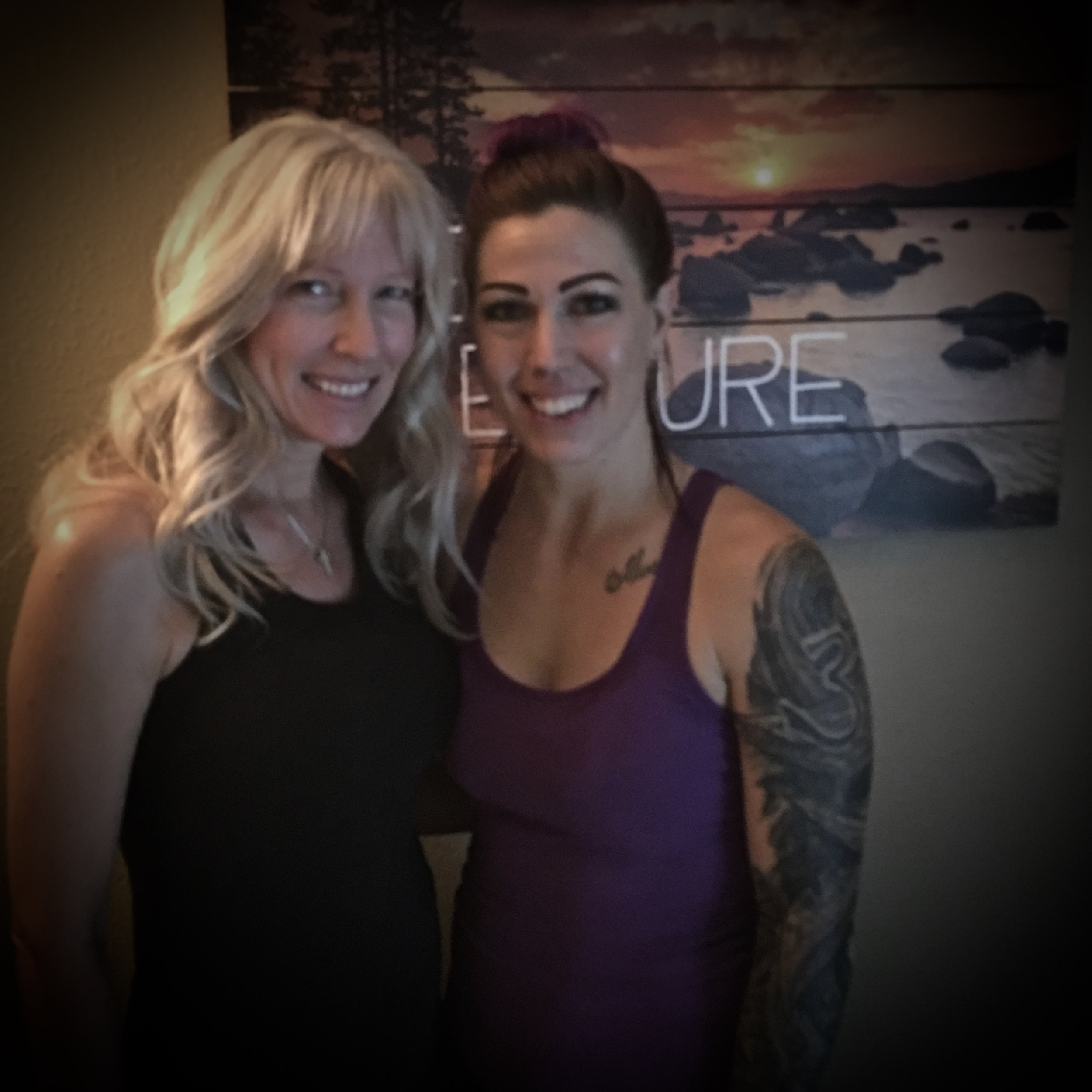 Vonda & Kari  Kari Flink - Licensed Massage Therapist and Reiki Master.  You can schedule with her through Cerbat Chiropractic @ 928-718-2225.